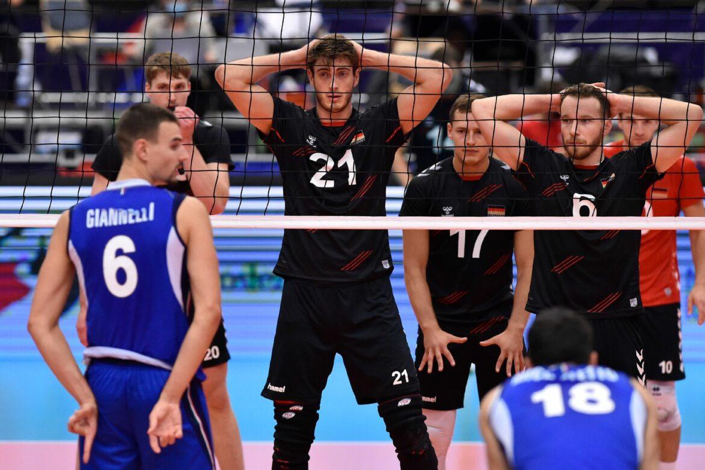 Deutsche Volleyballer ohne Chance gegen Italien