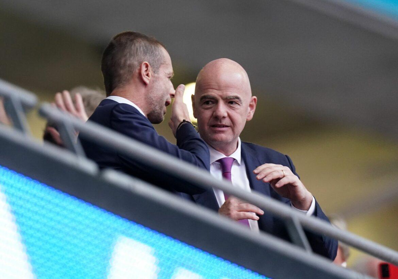 UEFA-Präsident fordert FIFA-Chef zu Gespräch wegen WM auf