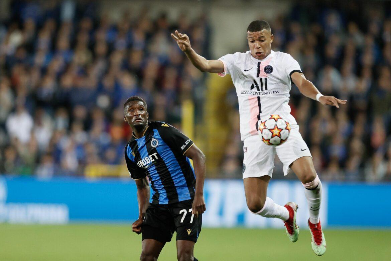 Remis in Brügge und Knöchelprobleme bei PSG-Star Mbappé