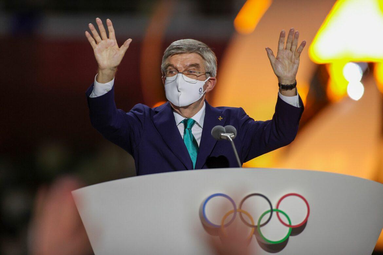 IOC-Chef Bach kündigt Impfprogramm für Winterspiele an