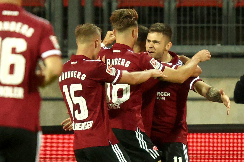 1. FC Nürnberg besiegt mit Joker-Tor Hansa Rostock
