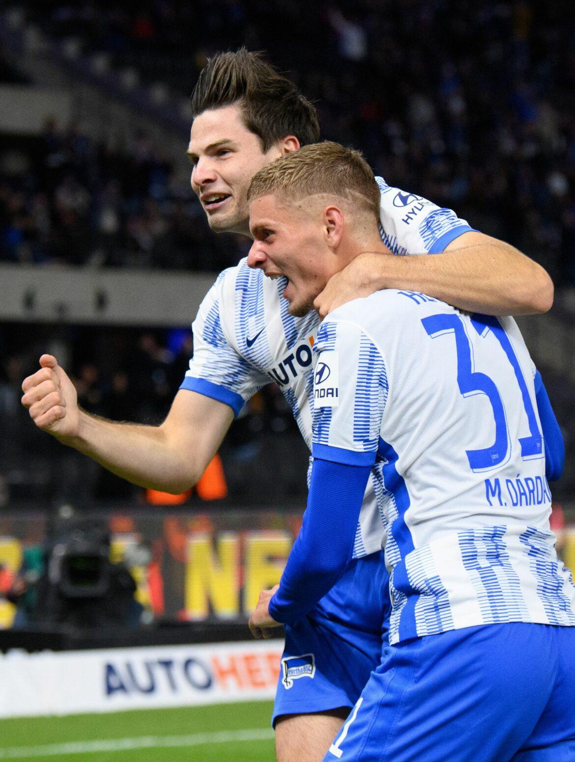 Hertha besiegt Fürth – Ekkelenkamp mit schnellem Tor-Debüt