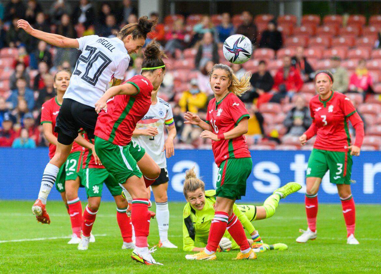 Gelungener Auftakt: DFB-Frauen mit 7:0-Sieg gegen Bulgarien