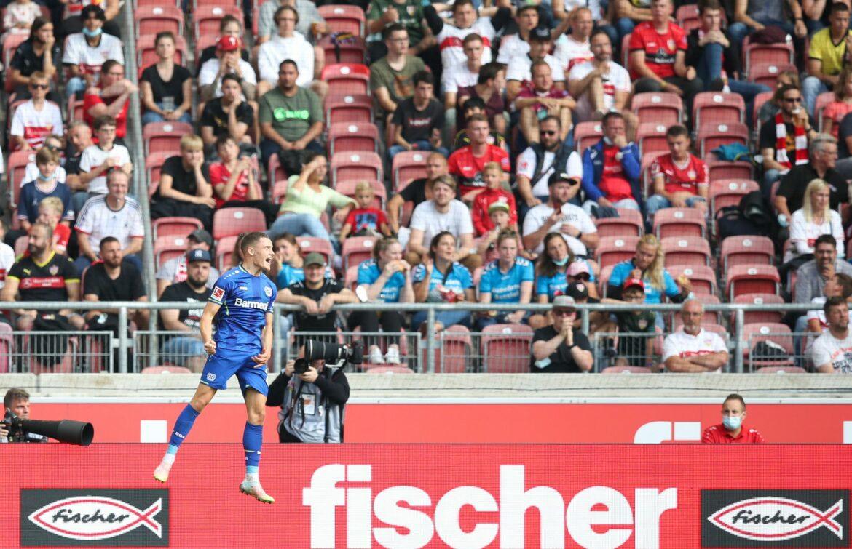 Leverkusen feiert «hässlichen» Unterzahl-Sieg beim VfB