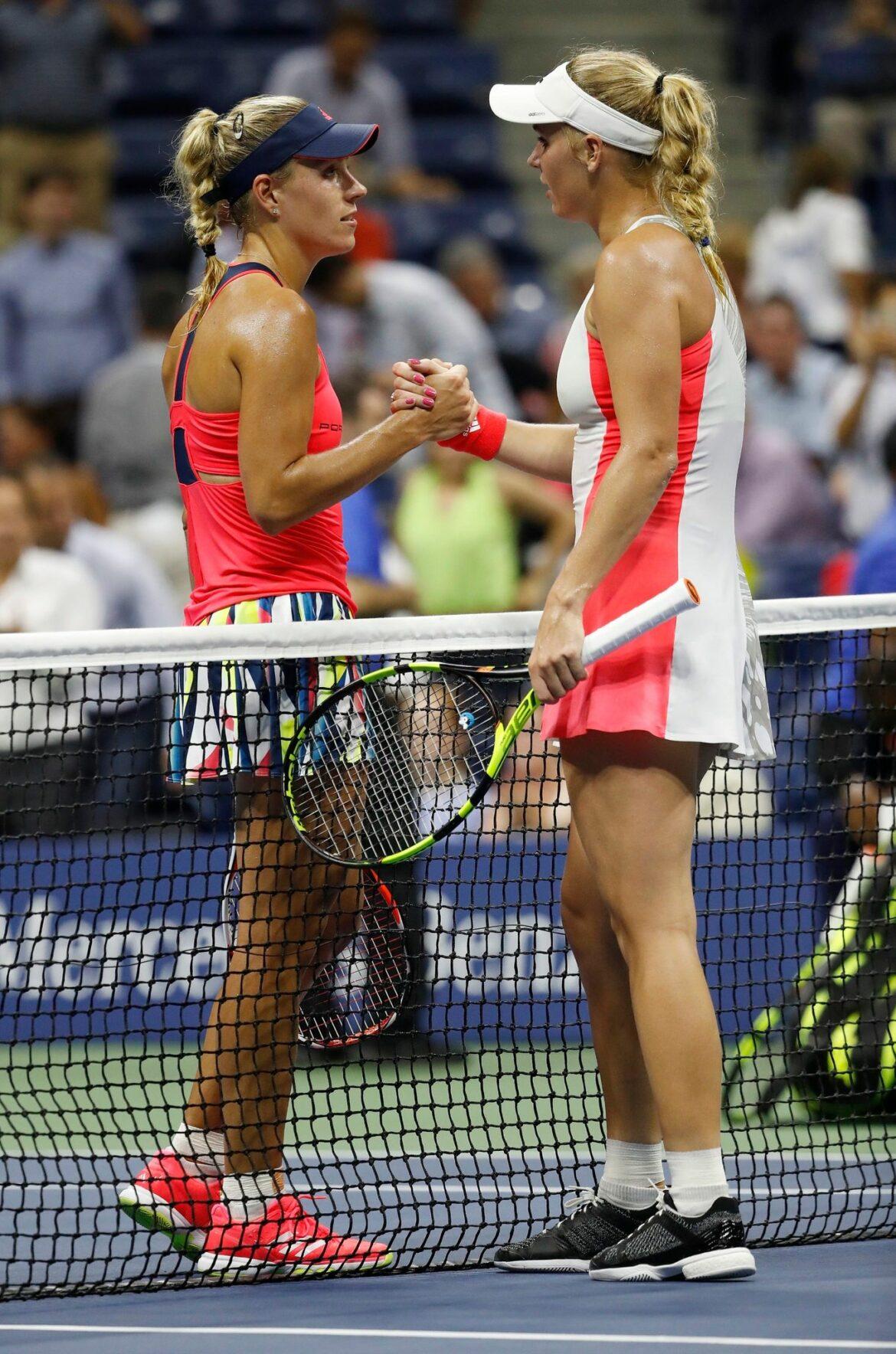 Wozniacki bei Abschied gegen Kerber statt Williams