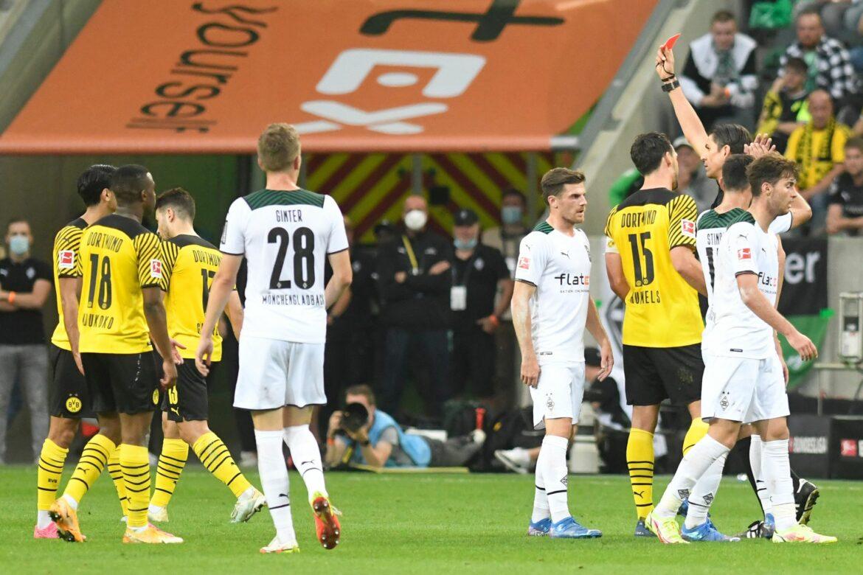 Bitterer Rückschlag für dezimierten BVB in Mönchengladbach