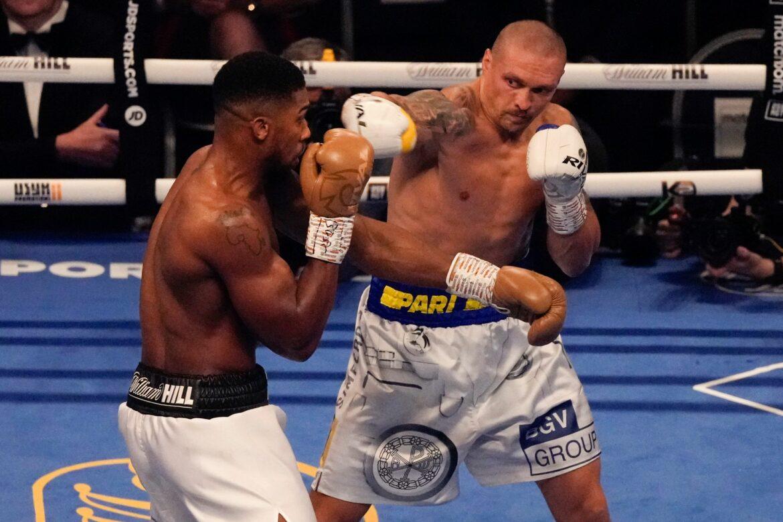 Neuer Schwergewichtskönig: Usyk entthront Joshua