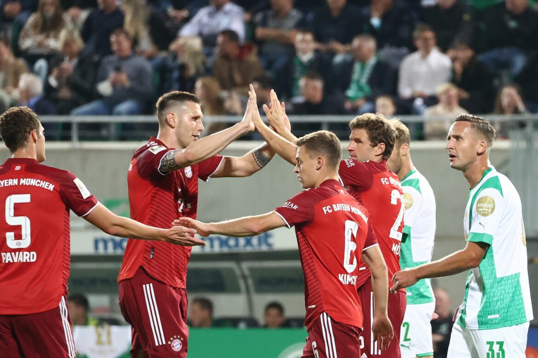 Bayern München festigt Tabellenspitze vor Kiew-Spiel
