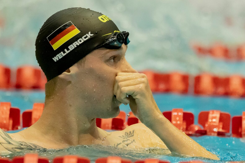 Kurzbahn-Weltcup in Berlin: Wellbrock gewinnt die 1500 Meter
