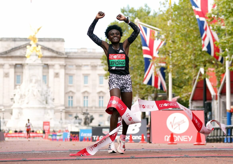 Jepkosgei und Lemma gewinnen erstmals London-Marathon
