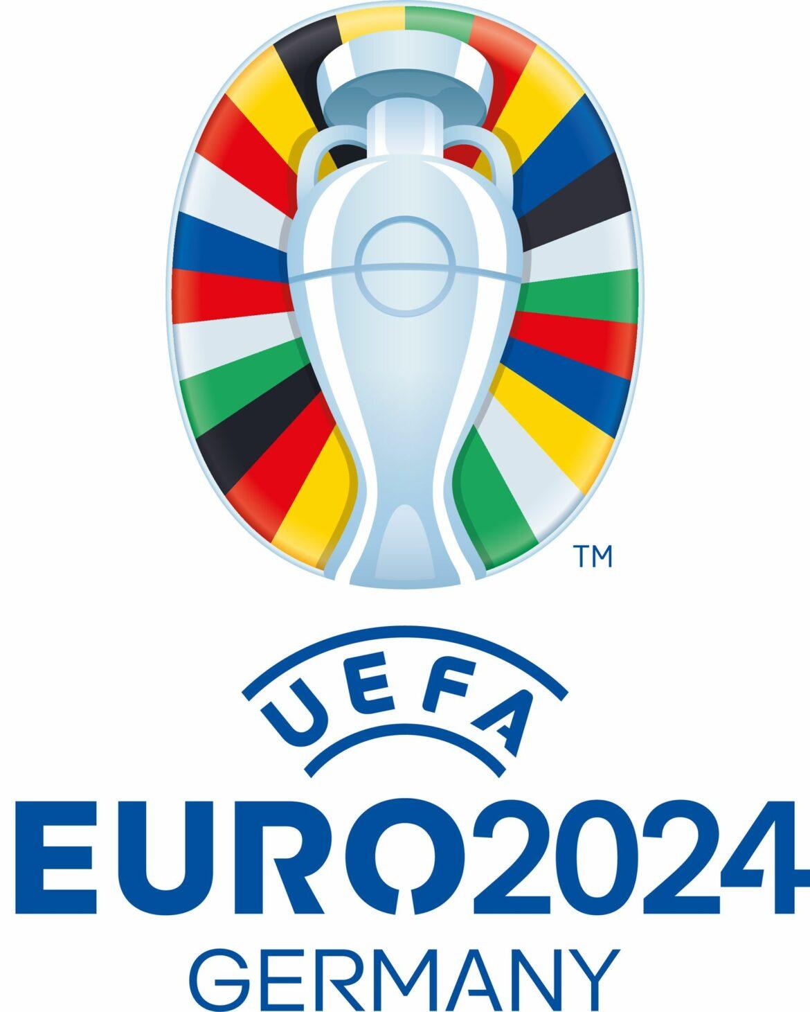 Logo für EM 2024 inspiriert vom Berliner Olympiastadion