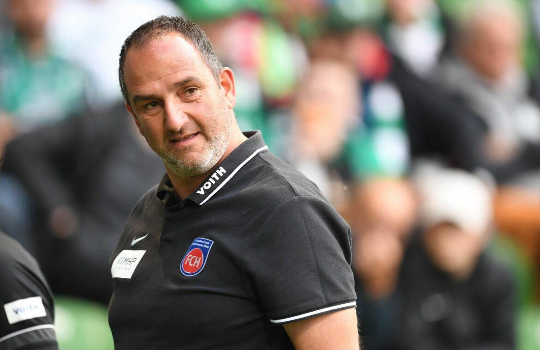 Heidenheim-Coach Schmidt jagt mit Verlängerung Finkes Rekord