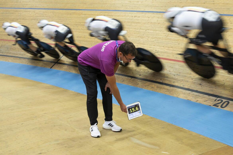 Frauen-Vierer fährt auch bei der Bahnrad-EM zu Gold