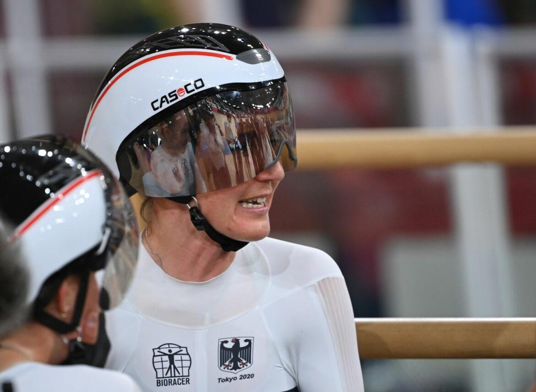 Lisa Brennauer Europameisterin in der Einerverfolgung