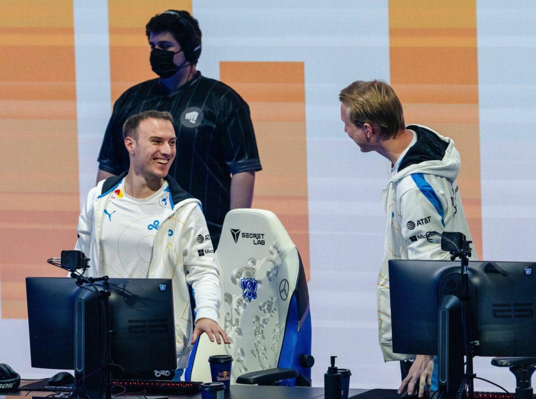 Cloud9 und Hanwah Life Esports im im Hauptevent der LoL-WM