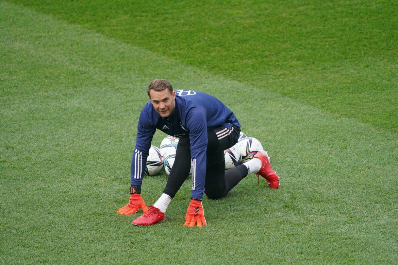 Kapitän Neuer beim Abschlusstraining – Rüdiger pausiert