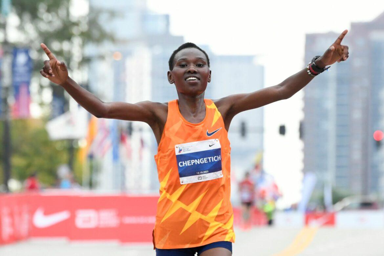 Weltmeisterin Chepngetich gewinnt Chicago-Marathon