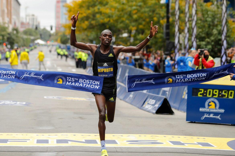 Kenianer Kipruto und Kipyogei gewinnen Boston Marathon