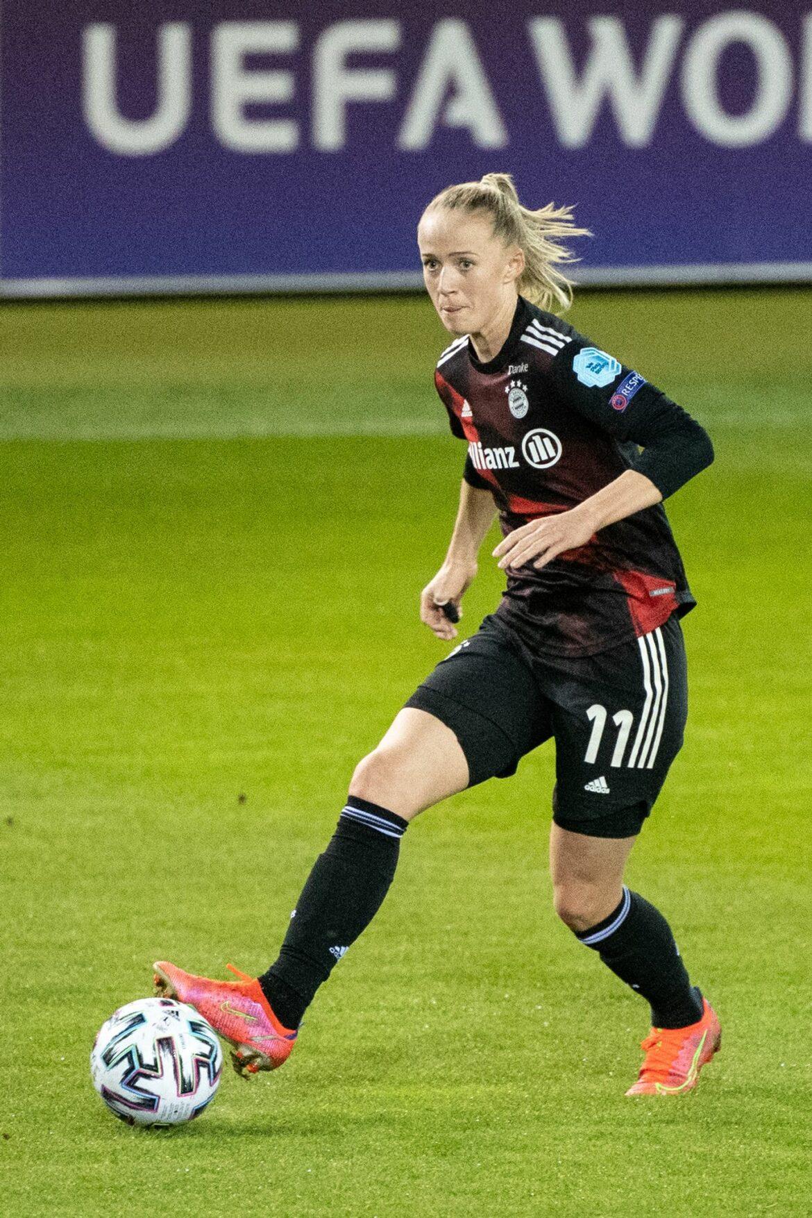 Bayern-Fußballerinnen holen ersten Sieg in Königsklasse