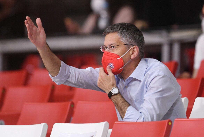 Bayern-Präsident Hainer glaubt an Sieg gegen Bayer