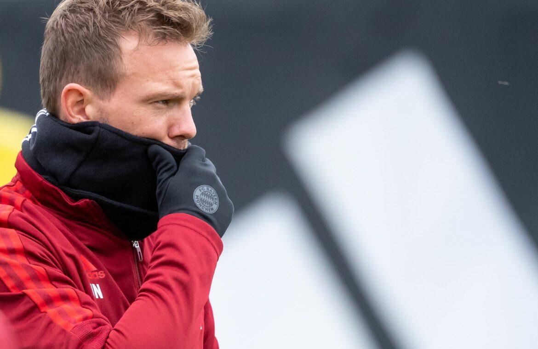 Positiver Corona-Test bei Bayern-Trainer Nagelsmann